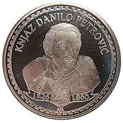 Famous personalities of Montenegro (Danilo Petrovic) – obverse