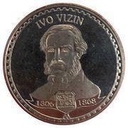 Famous personalities of Montenegro (Ivo Vizin) – obverse
