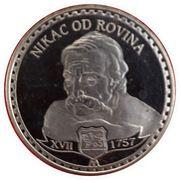 Famous personalities of Montenegro (Nikac od Rovina) – obverse