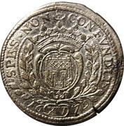 15 Kreuzer - Johann VIII. – reverse