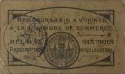 10 Centimes Chambres de Commerce de Montluçon et de Gannat – reverse