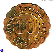 10 Centimes (J.Bresson & Cie - Montpellier) – obverse