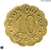 10 Centimes (Quercy) – obverse