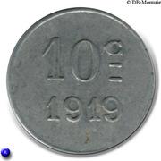 10 Centimes (Montréal) – reverse