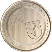 2 Dollars - Elizabeth II (Emerald Isle of the Caribbean) – reverse