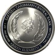 2 Dollars - Elizabeth II (Emerald Isle of the Caribbean) – obverse