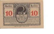 10 Heller (Moosbach) -  reverse