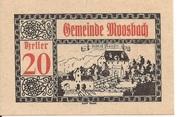 20 Heller (Moosbach) -  obverse
