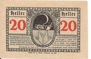 20 Heller (Moosbach) -  reverse