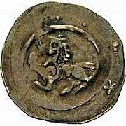 Denar - Vladislaus Henry I – reverse
