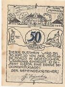 50 Heller (Morzg) – reverse