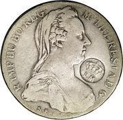 920 Réis (Countermark over 1 Thaler/Austria) – obverse