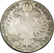 920 Réis (Countermark over 1 Thaler/Austria) – reverse