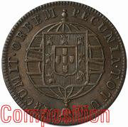 20 Réis - João VI (Rio de Janeiro mint) – reverse