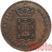 20 Réis - Maria II (Lisboa mint) – obverse