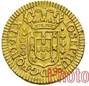 2000 Réis - José I (Lisbon mint) – obverse