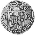 400 Réis - João V (Goa mint) – obverse