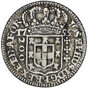 200 Réis - José I (Colonial Coinage) – obverse
