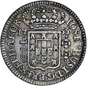 400 Réis -  José I (Colonial Coinage) – obverse