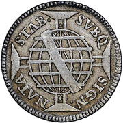 400 Réis -  José I (Colonial Coinage) – reverse