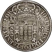 100 Réis - José I (Colonial Coinage) – obverse