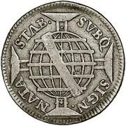 100 Réis - José I (Colonial Coinage) – reverse