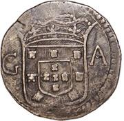 800 Réis - João V (Goa mint) – obverse