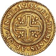 4000 Réis - José I (Lisbon mint) – reverse