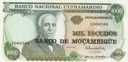 1000 Escudos (Banco de Moçambique Overprint) -  obverse