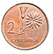 2 Centimos -  reverse