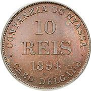 10 Réis (Companhia do Nyassa) – obverse