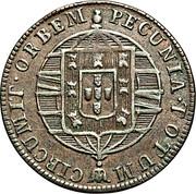 40 Réis - João VI (Rio de Janeiro mint) – reverse