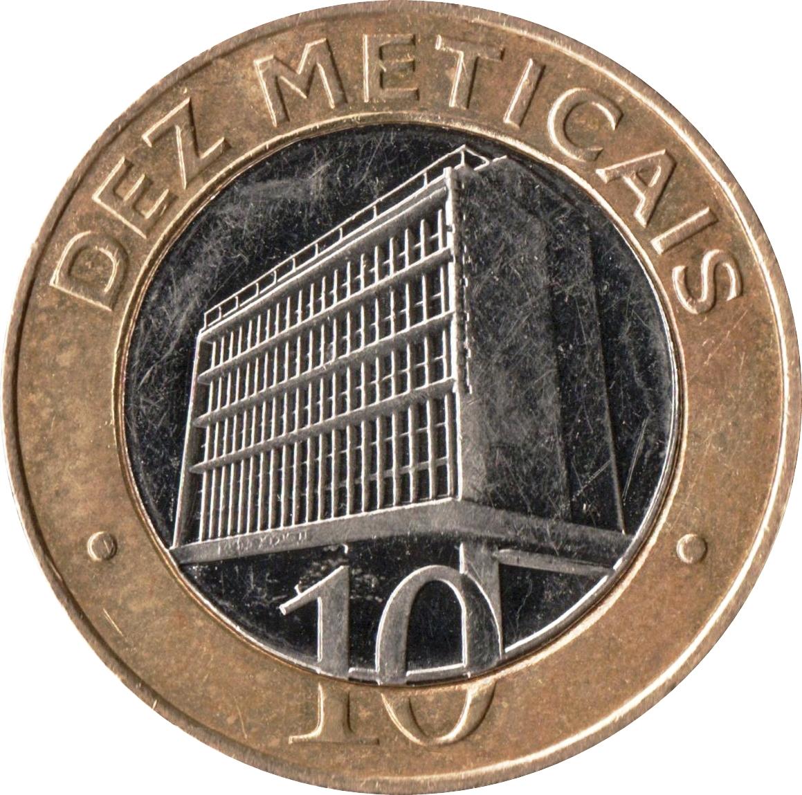 1 5 10 20 50 Centavos 1 2 5 10 Meticais set 9 coins 2006-2012 Mozambique