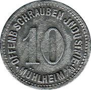 10 Pfennig - Mühlheim am Main (Schrauben Industrie) – obverse