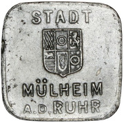 50 Pfennig - Mülheim an der Ruhr -  obverse