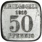 50 Pfennig - Mülheim an der Ruhr -  reverse