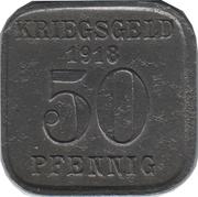50 Pfennig - Mülheim an der Ruhr – reverse