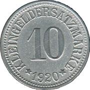 10 Pfennig - Münchberg – reverse