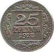 25 Pfennig - Münster in Westfalen -  obverse