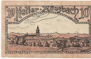 10 Heller (Münzbach) – reverse