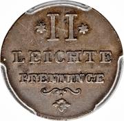 2 Leichte Pfenninge - Joseph II – reverse