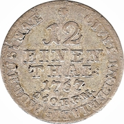 1/12 Thaler - Joseph II – reverse