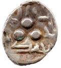 """Qandhari Dirham """" Damma"""" - Muhammad - 712-715 AD (Amir of Multan) – obverse"""
