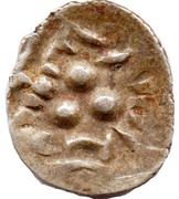 "Qandhari Dirham "" Damma"" - Munabbih - 800-856 AD (Amir of Multan) – obverse"
