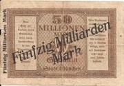 50,000,000,000 Mark – reverse