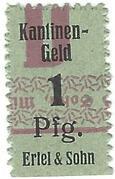 1 Pfennig (Ertel & Sohn) – obverse