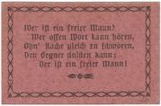 1 Pfennig (Kalksandstein-Werke Milbertshofen) – reverse