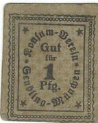 1 Pfennig (Konsum-Verein Sendling) – obverse