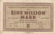 1,000,000 Mark (Bayerische Bauindustrie A.G.) – obverse