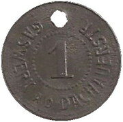 1 Pfennig - München (Gaswerk A.D.Dachauerstr) – obverse